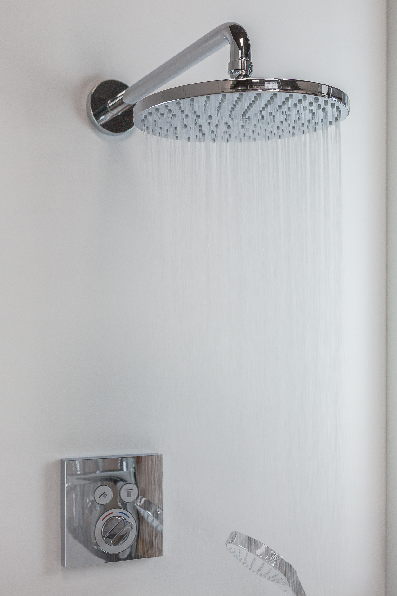 douche ronde