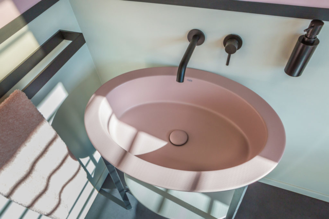 lavabo rose