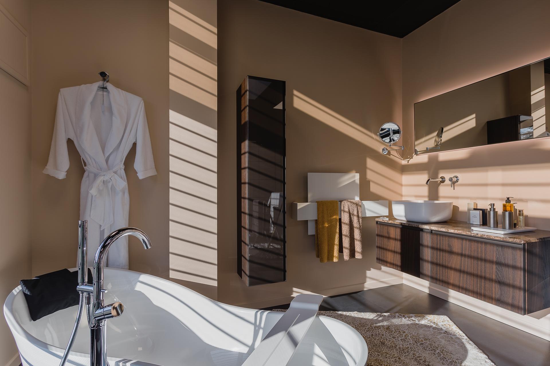 salle de bain cocooning